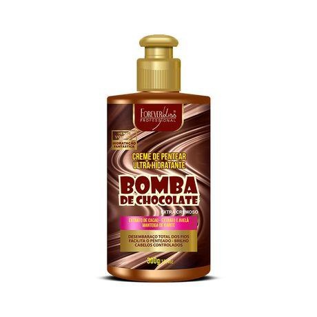 Creme-de-Pentear-Bomba-de-Chocolate-Forever-Liss-300gr