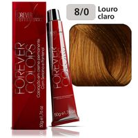 Coloracao-Forever-Colors---Natural-8-0-Louro-Claro