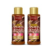 Kit-Bomba-de-Chocolate-com-Shampoo-e-Condicionador-Forever-Liss