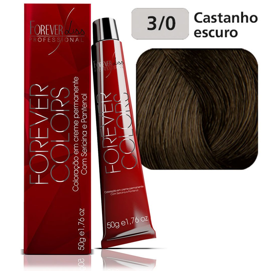 coloracao-forever-colors-natural-3-0-castanho-escuro