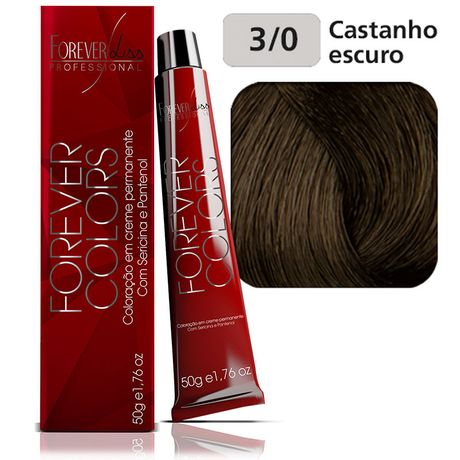 Coloracao-Forever-Colors---Natural-3-0-Castanho-Escuro