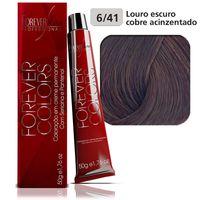 coloracao-forever-colors-cobre-acinzentado-6-41-louro-escuro-cobre-acinzentado