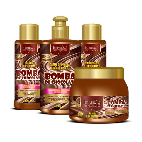 Kit-Bomba-de-Chocolate-Completo-Forever-Liss