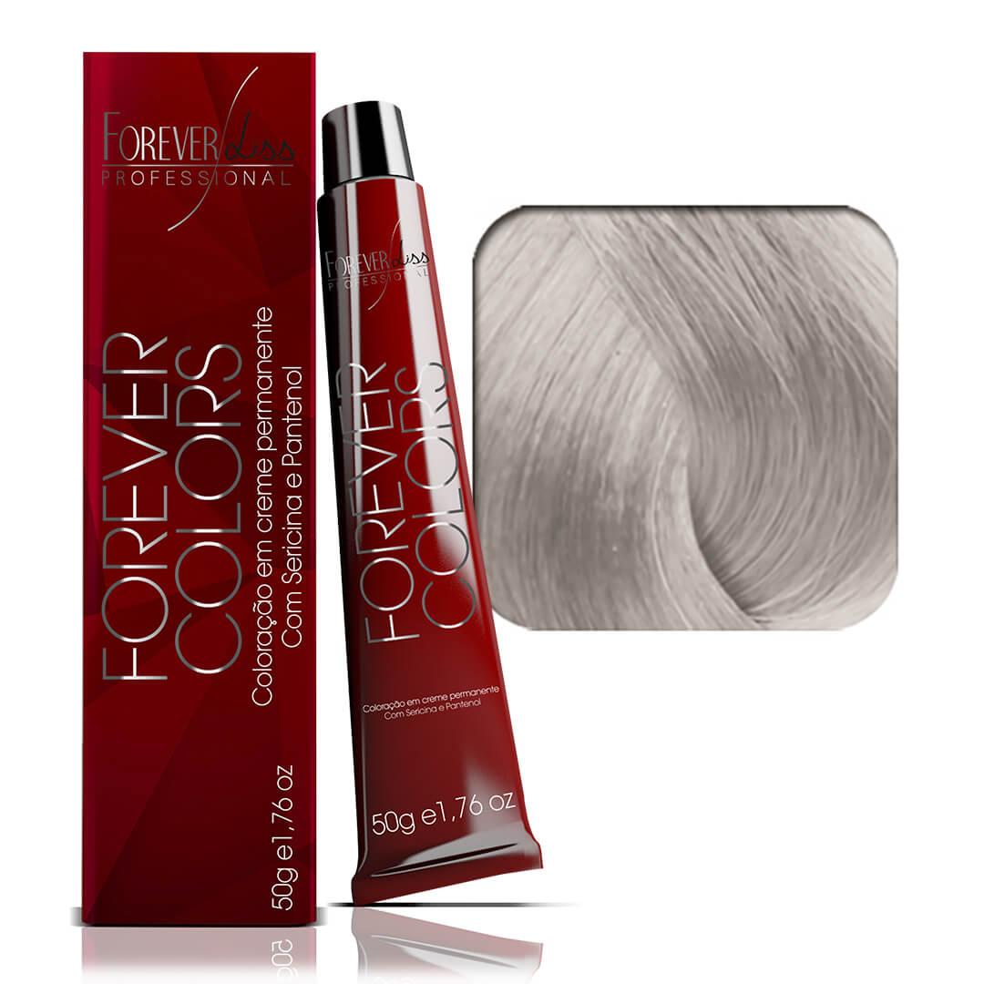 coloracao-forever-colors-clareador-12-11-louro-ultra-claro-cinza-intenso